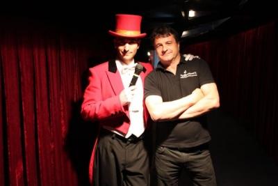 Sergio Gambi, nuevo director artístico del Benidorm Circus.